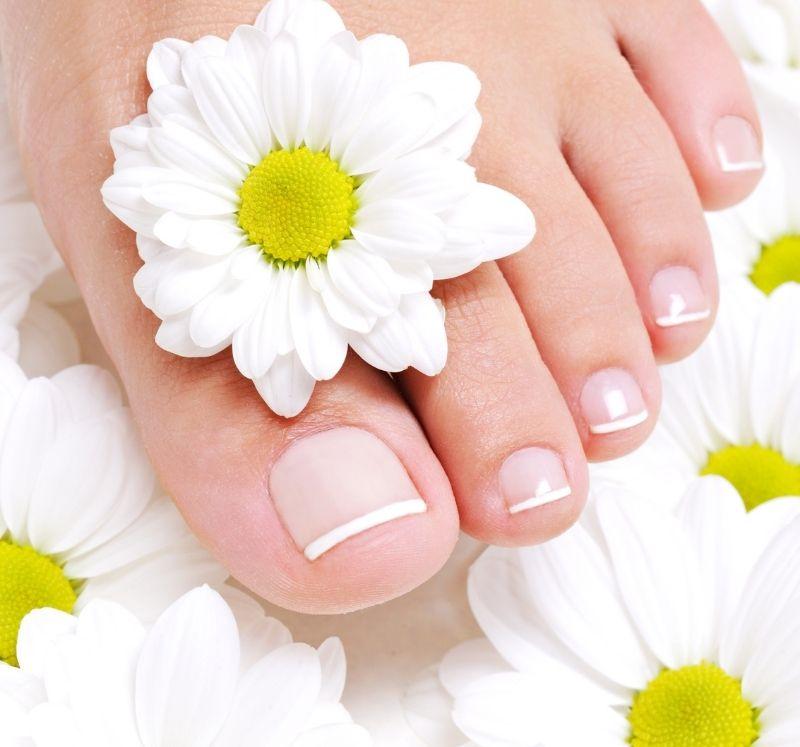 Kosmetische Fußpflege